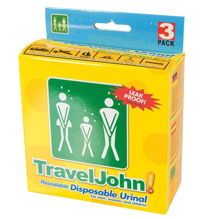 Travel John wegwerp urinaal uni-sex 800 ml