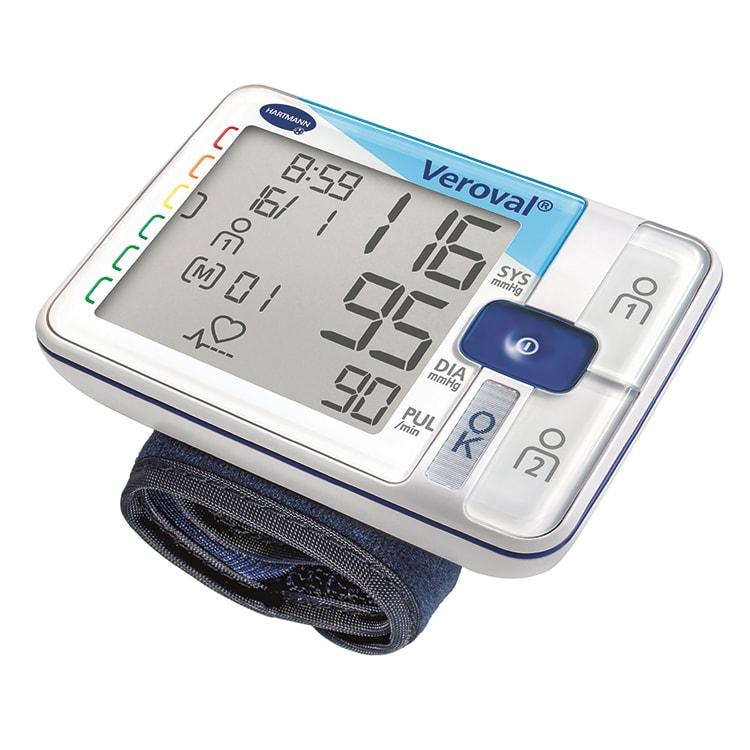 Veroval mobil bloeddrukmeter voor meting aan de pols