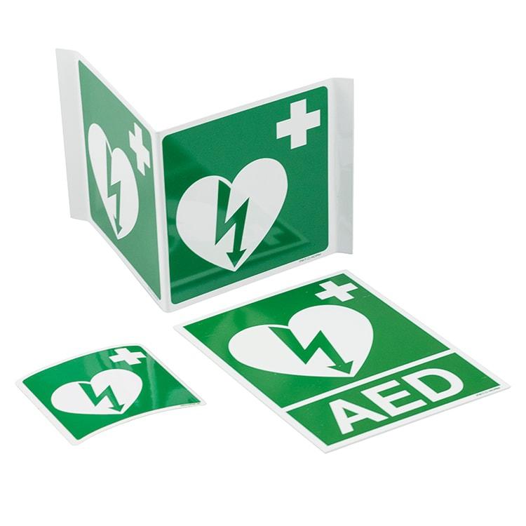 Pictogram AED PVC - 15 x 20 cm