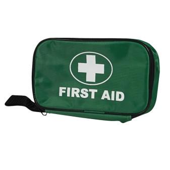 Eerste hulp tas gevuld