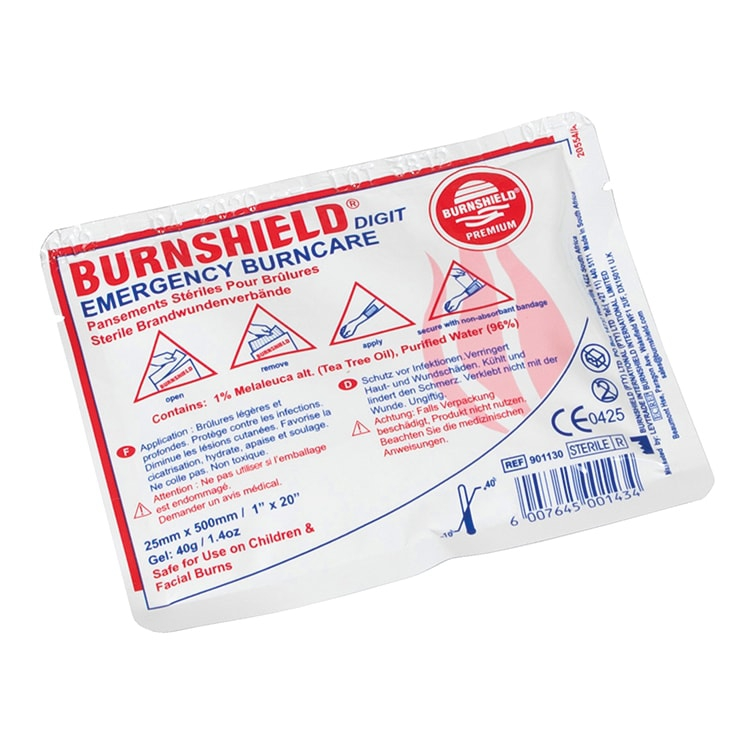 Burnshield vingerstrip 25 mm x 0,5 m