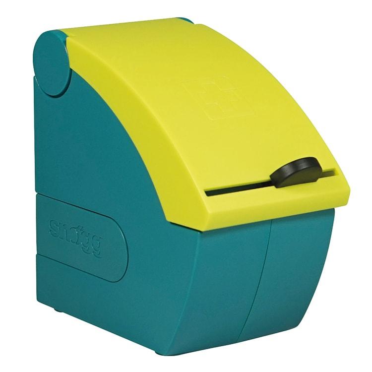 Soft dispenser gevuld met Soft wondverband huidskleur 4,5 m x 6 cm