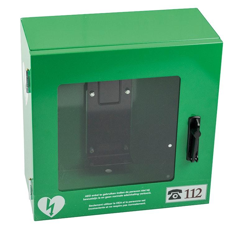 Metalen AED kast