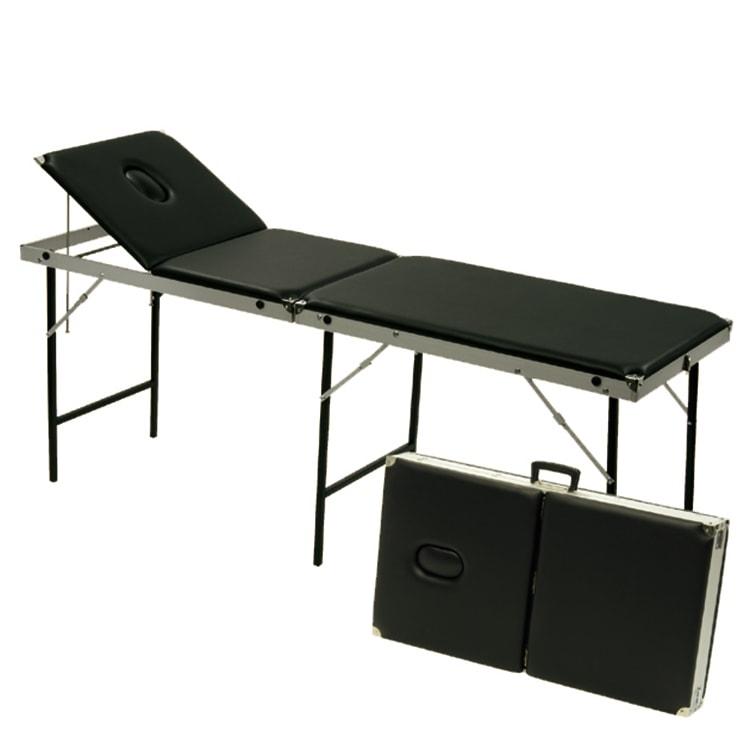 Opvouwbare onderzoekstafel koffermodel