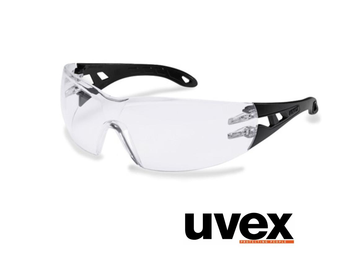 Uvex Pheos one beschermbril transparant