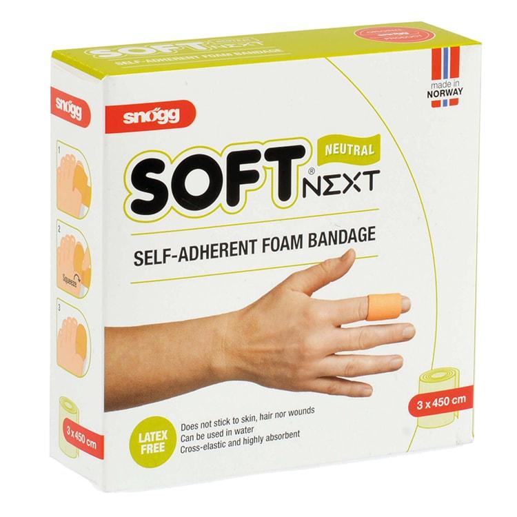 Soft wondverband huidskleur