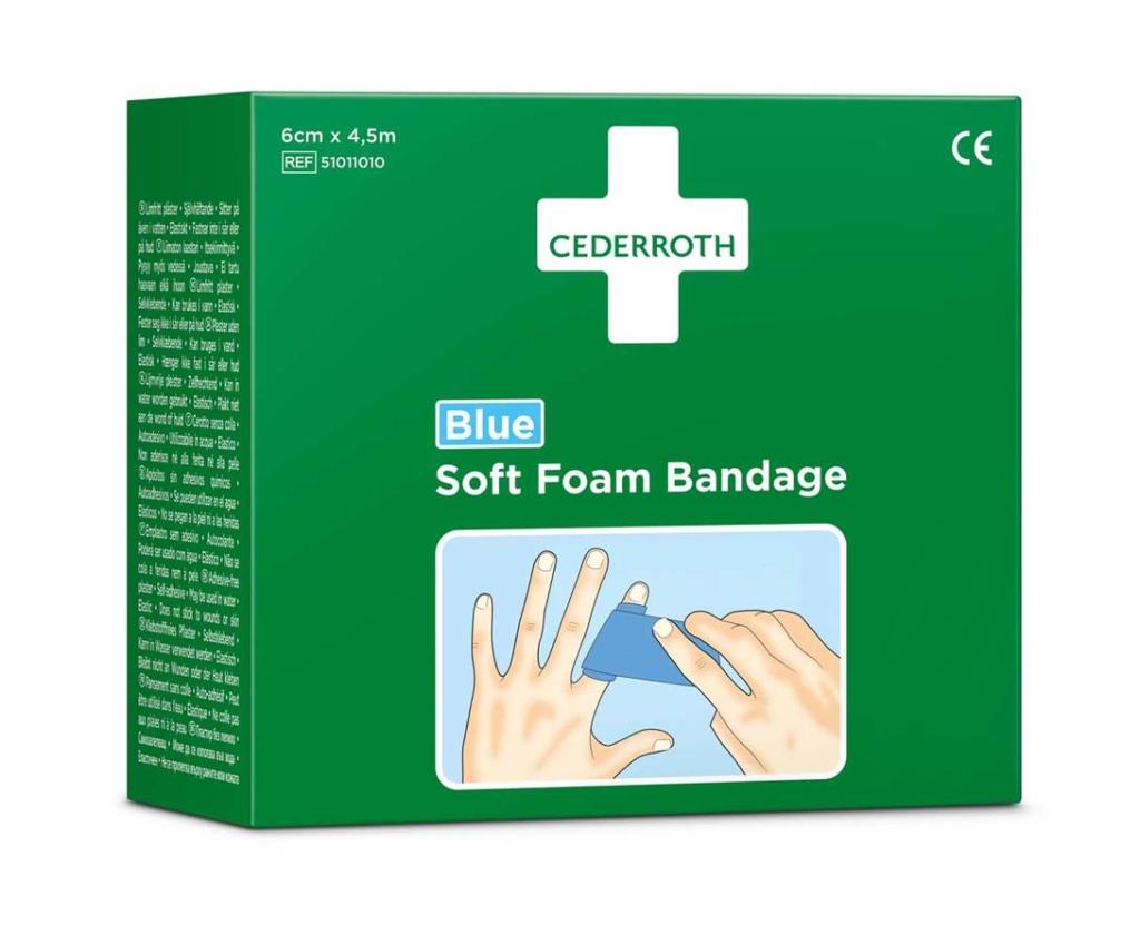 Cederroth Soft Foam Bandage 4,5m x 6cm