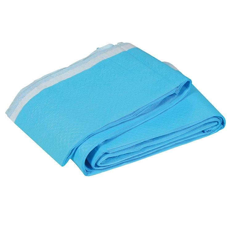 Brancardlaken blauw geplastificeerd 210 x 80 cm