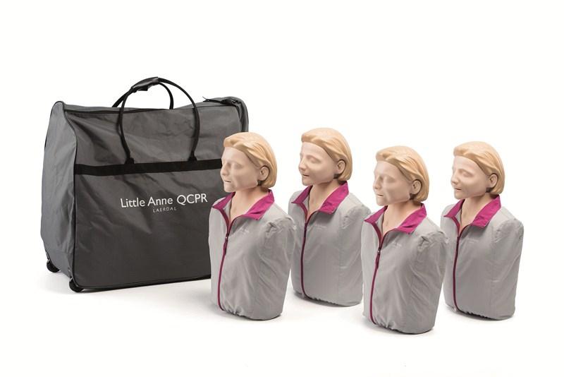 Little Anne QCPR per 4