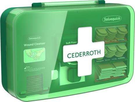 Cederroth wound care dispenser HACCP