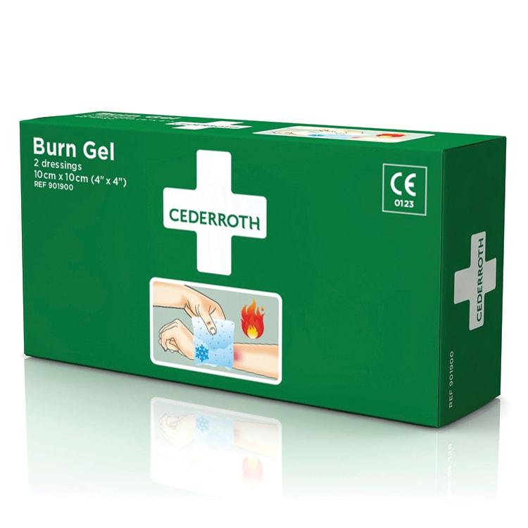 Cederroth burn gel kompres 10 x 10 cm