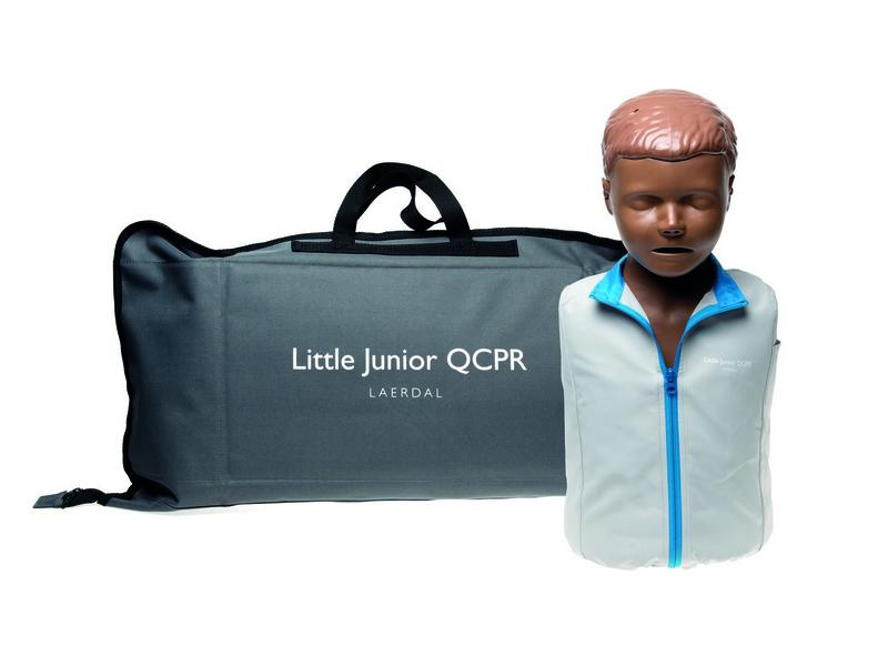 Little junior QCPR donkere huid