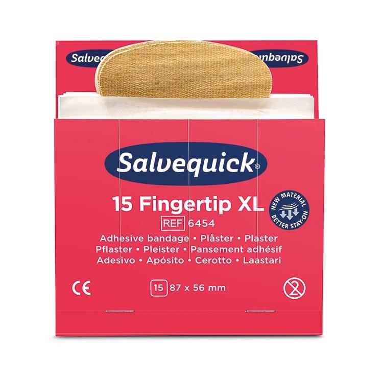 Salvequick Extra Grote Vingertoppleisters per 6 x 15 pleisters