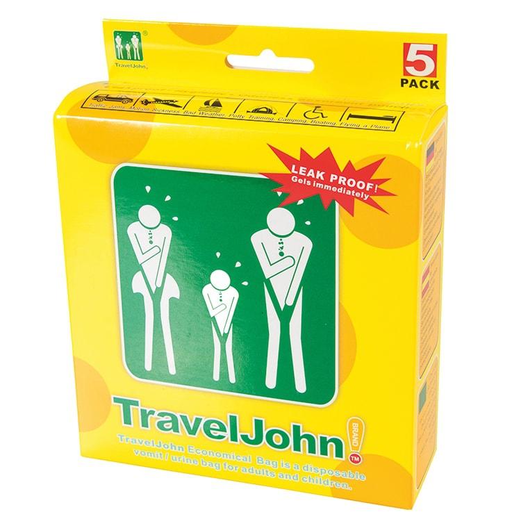 Travel John braakzakjes 800 ml