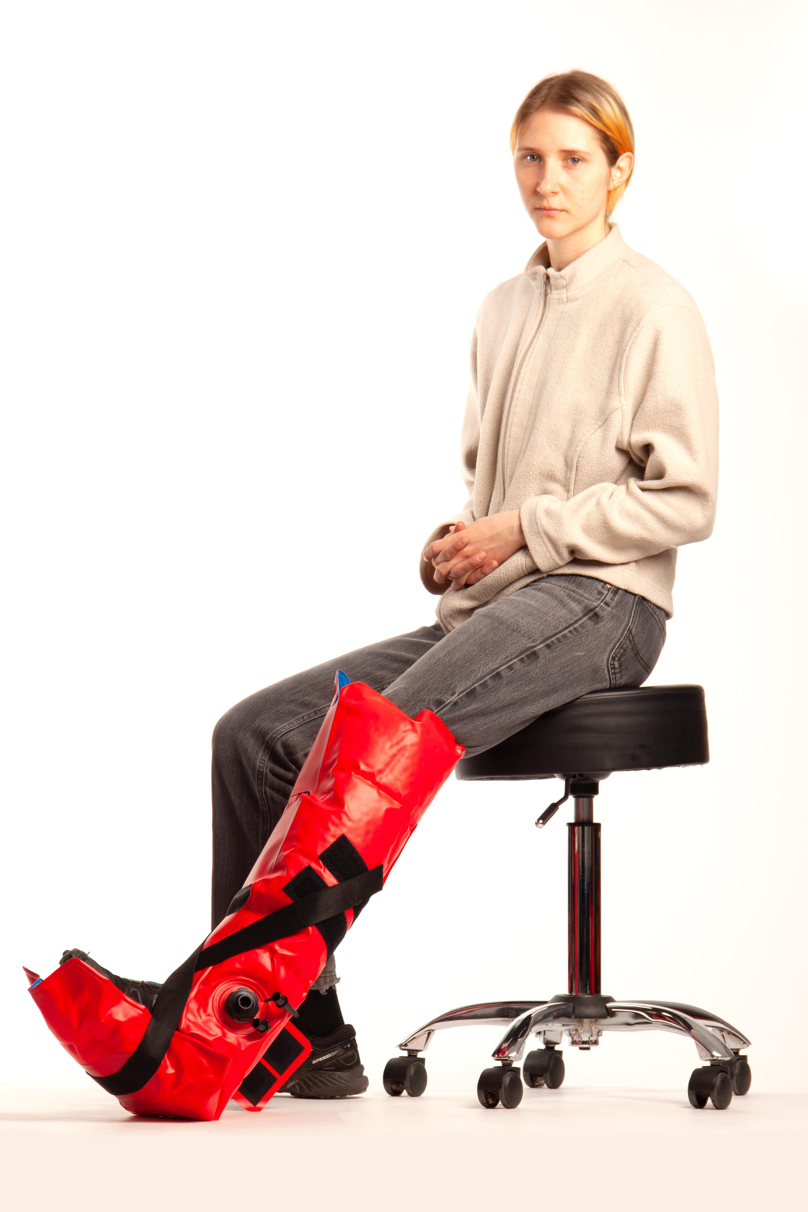 RedVac vacuumspalkenset arm, been, volledig been, pomp en tas